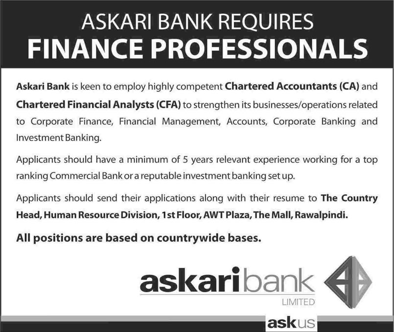 askari bank a leading pakistani bank Askari bank limited company research & investing information find executives and the latest company news.