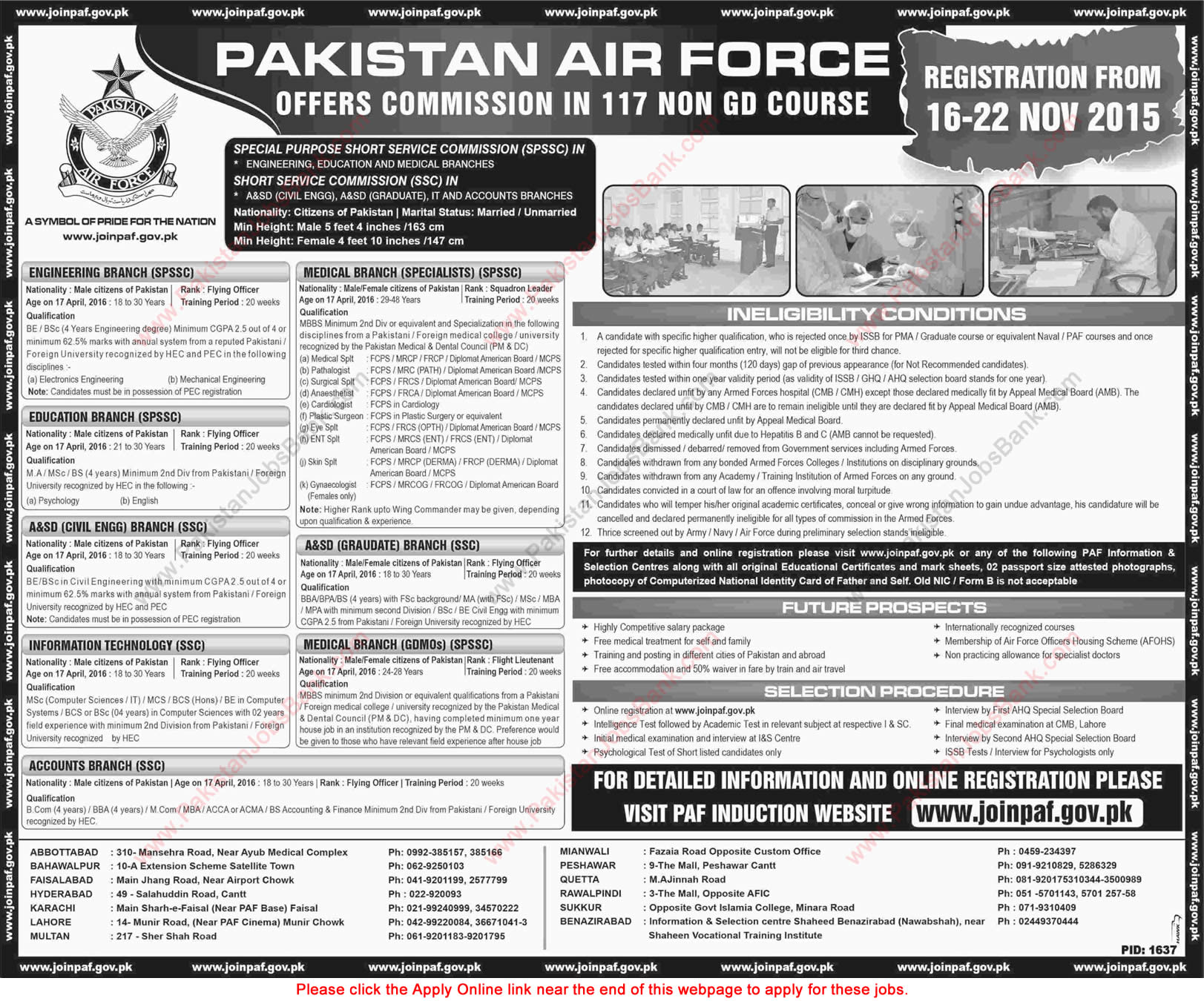 Browse Jobs in Pakistan