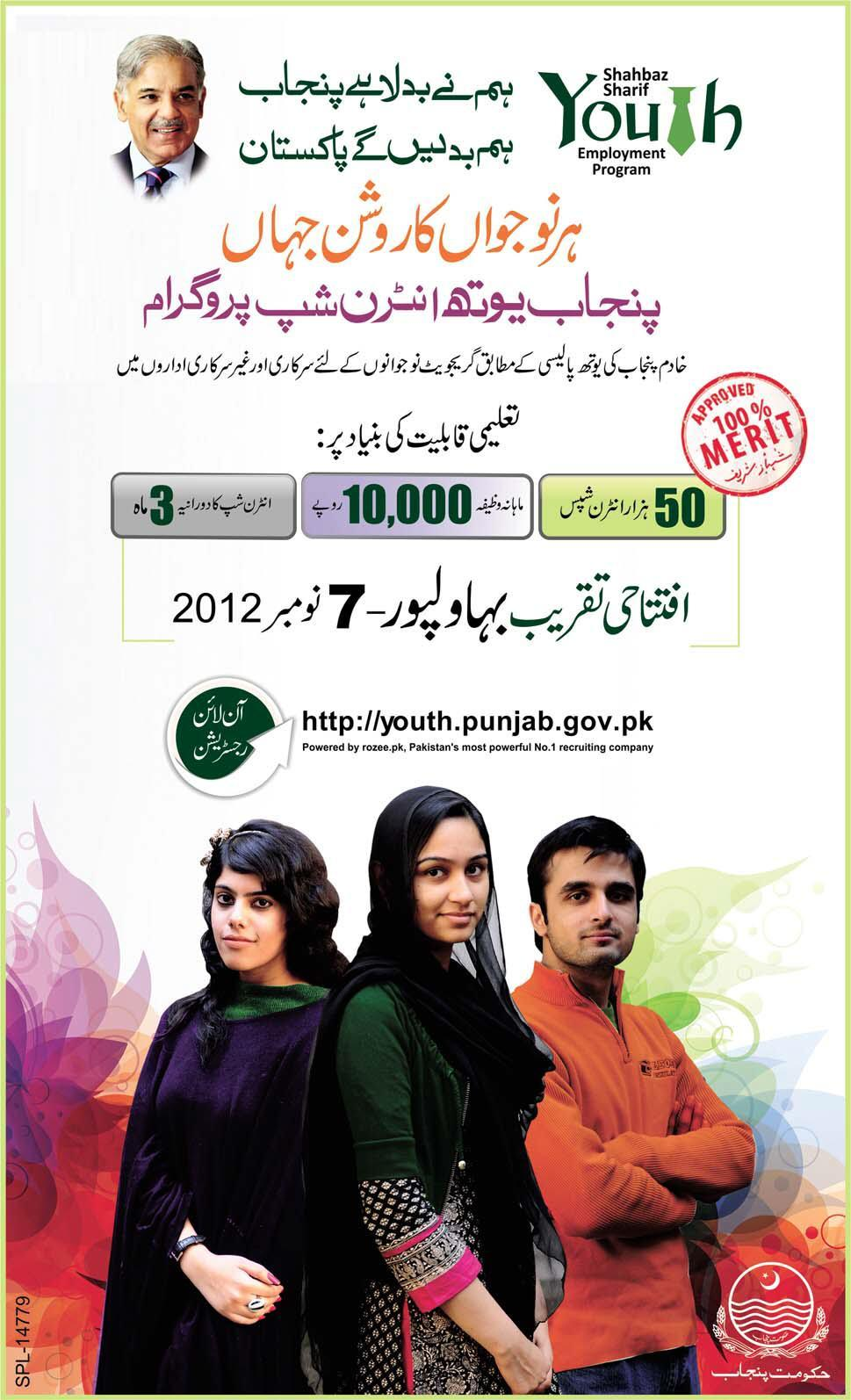 Punjab Youth Internship Program (PYIP) 2012-2013