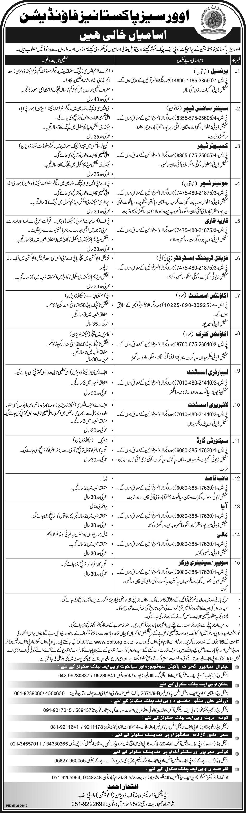 Ad_Express_Job_20121209_010 Opf Job Form Download on f 8 islamabad, school islamabad party, school quetta, colony islamabd, airport logo, space shuttle, college islamabad girls,