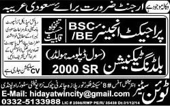 Civil Engineering Jobs in Saudi Arabia 2015 for Pakistanis Latest
