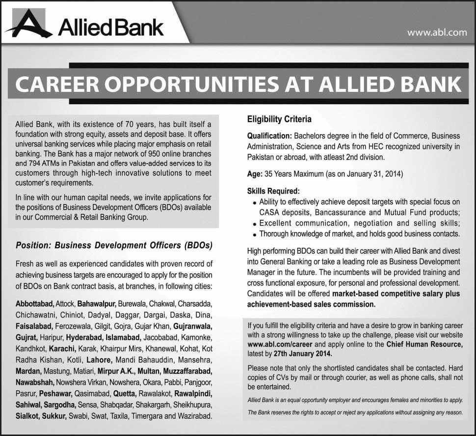 Ad_Jang_Job_20140119_002 Job Application Form Of Allied Bank on business application form, bank check register form, bank employment application form, chase bank application form, teacher application form, sample bank statement form, bank loan application form, bank information form,