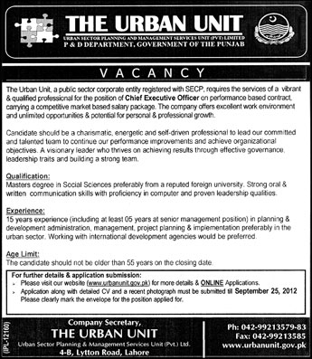 P d department government of punjab requires chief - Office of the government chief information officer ...