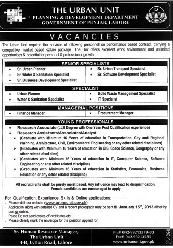 personnel department punjab