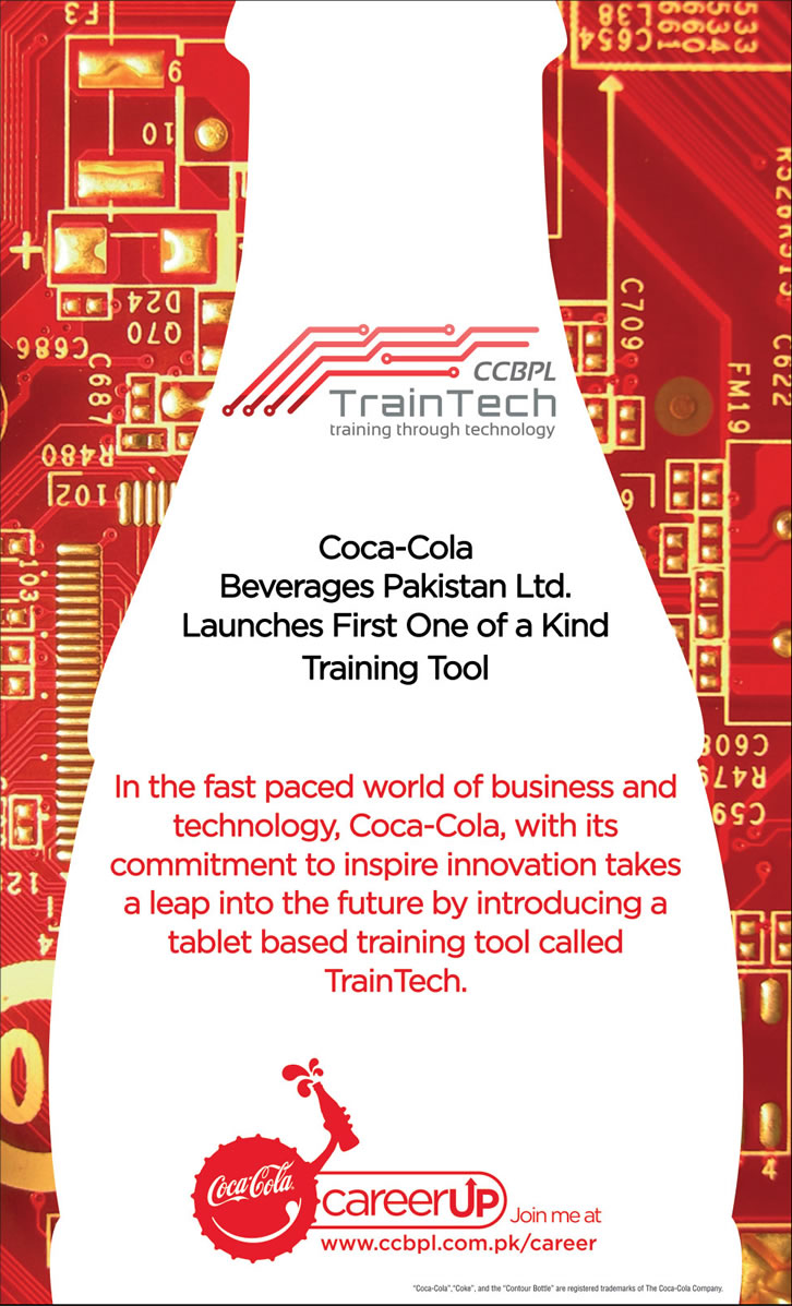 Coca-Cola Beverages Pakistan Limited (CCBPL) Jobs 2013 October TrainTech Training Tool